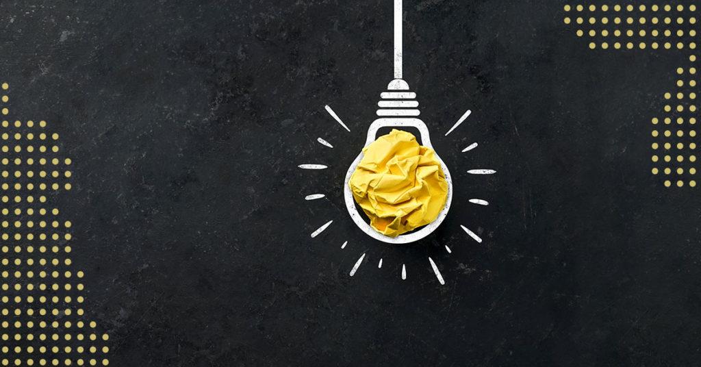 Glühbirne als Symbol für einen Beitrag der MDM User Group