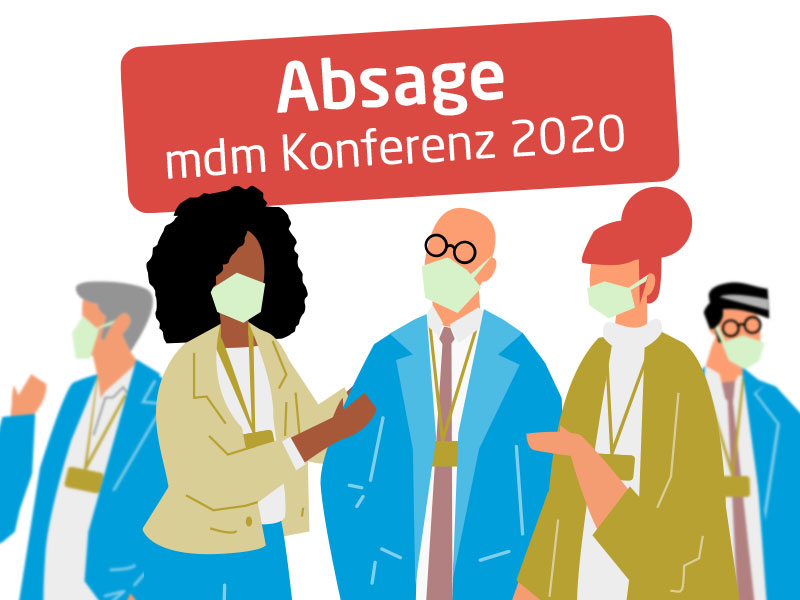 Absage MDM Konferenz Mai 2020